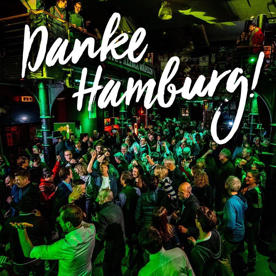 Les joves som la clau per impulsar el canvi que el nostre planeta necessita   A les eleccions d'Hamburg, @GRUENE_Hamburg ha doblat els seus resultats i són segona força gràcies al suport de les joves  Glückwunsch #HamburgWahl #DieZeitIstJetzt pic.twitter.com/DrTFxFFXCw