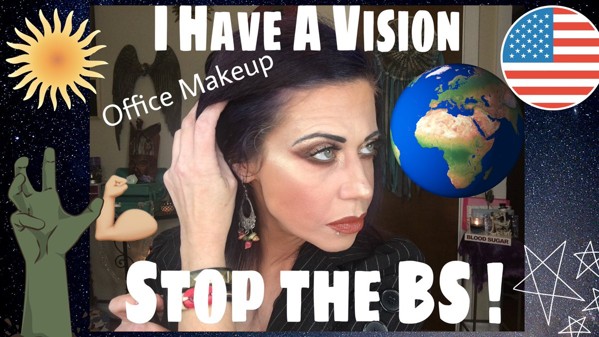 Video uploaded ! In this video I discuss a lot of sensitive topics, if you are offended easily I recommend you skip this one.  Together We Can Change The World ! | Office Makeup Look  #BeTheChange #BetheDifference #BeTheOutcast #makeovermonday #makeup