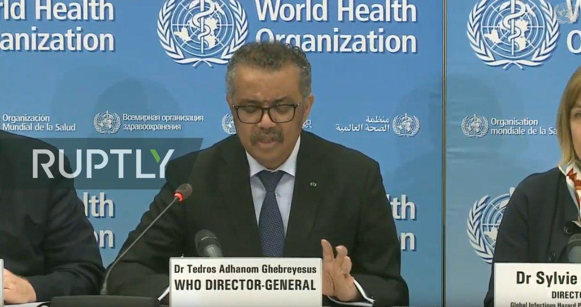 WHO updates media on #coronavirus outbreak LIVE: bit.ly/2SUJOTj