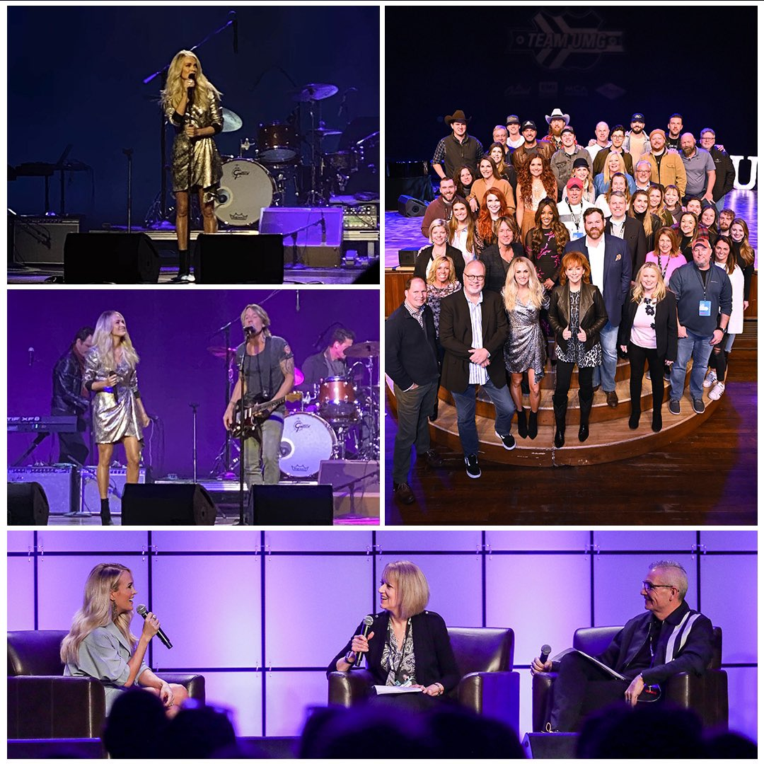 Thanks @CRSOfficial & @UMGNashville for a great week! #CRS2020