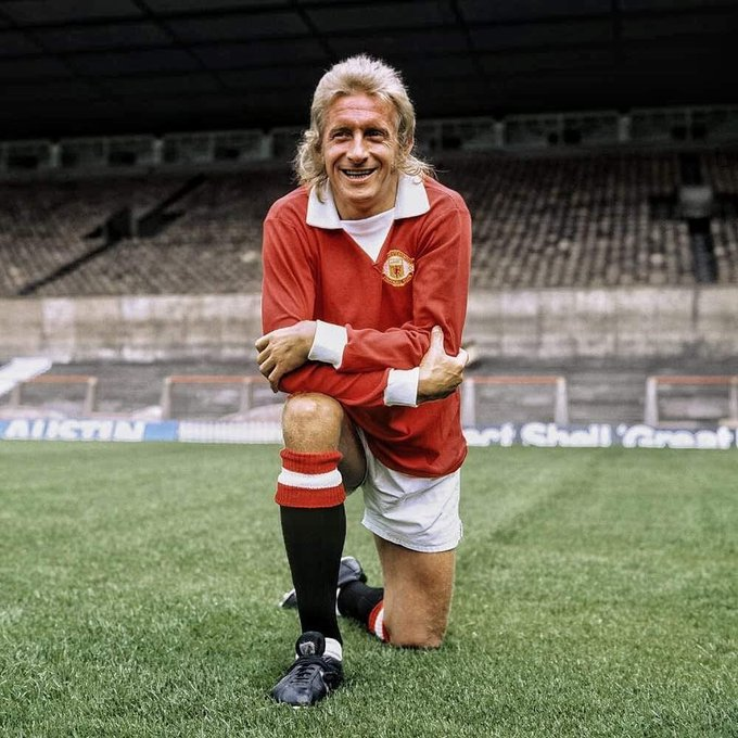 A very Happy 80th birthday to Denis Law. One of Man Utd s all time greats.   The King.