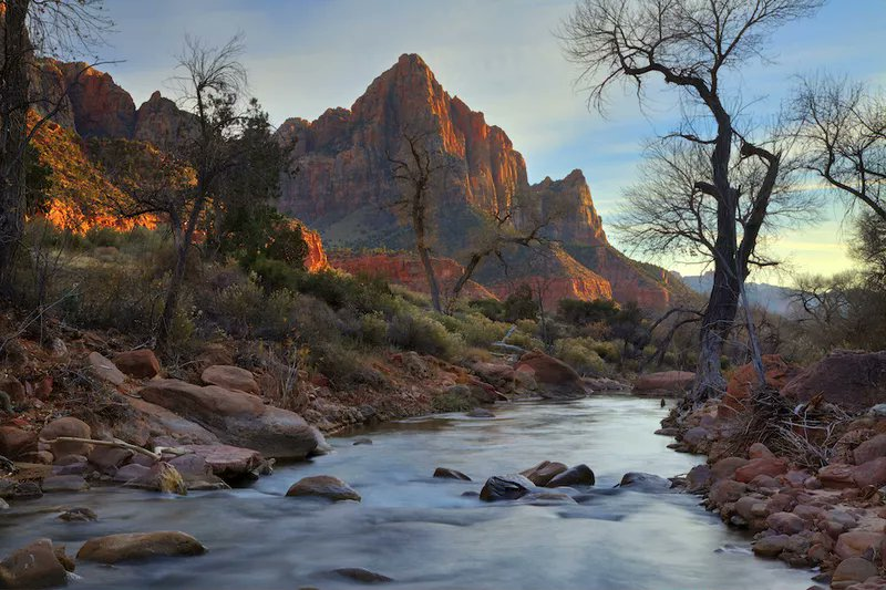 If you're in the mood for scenic views of Zion National Park, this trail is for you. #adventuretravel #wanderlust  http://cpix.me/a/92508477