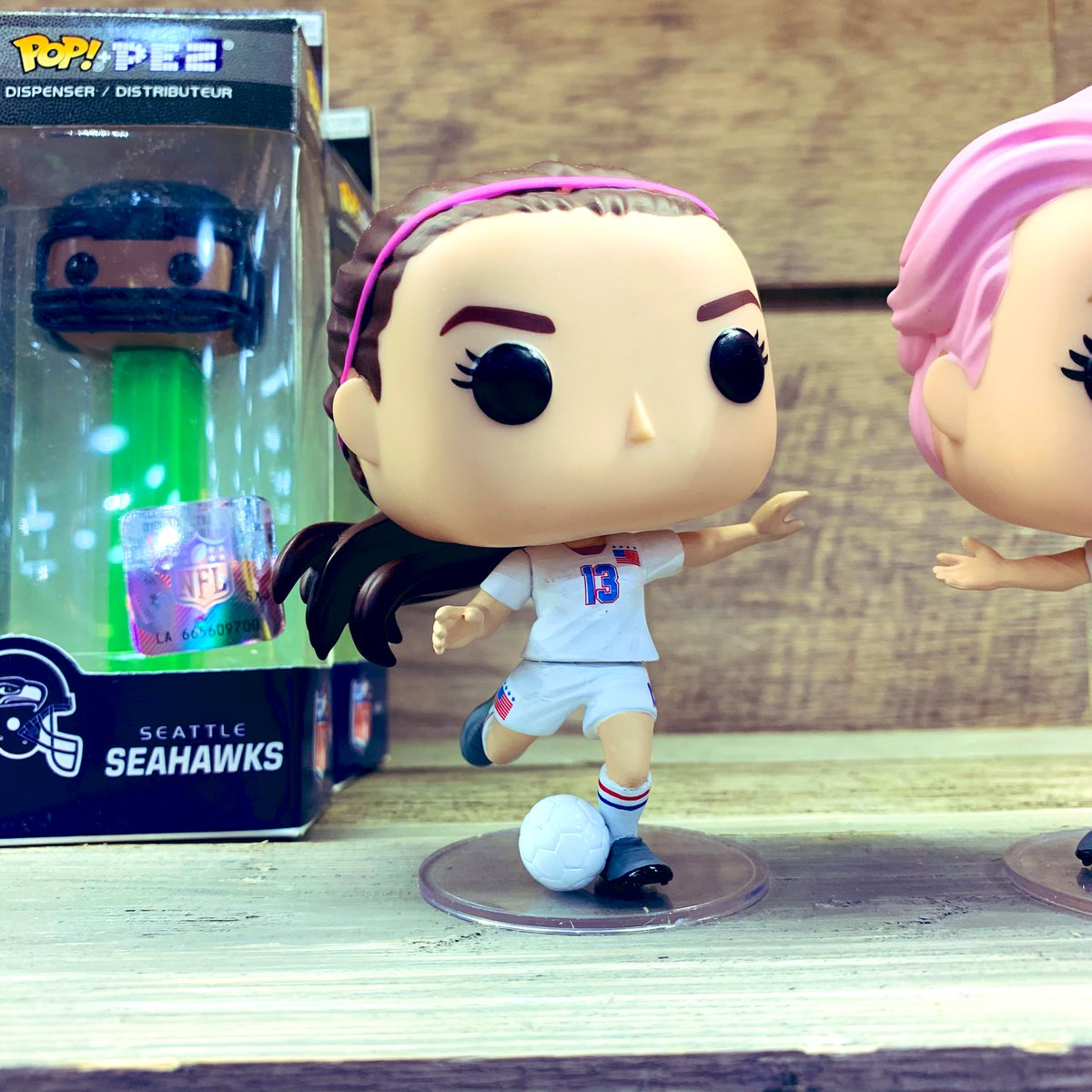 Take a closer look at the #USWNT Pops! #FunkoTFNY #FunkoWomenOfPower