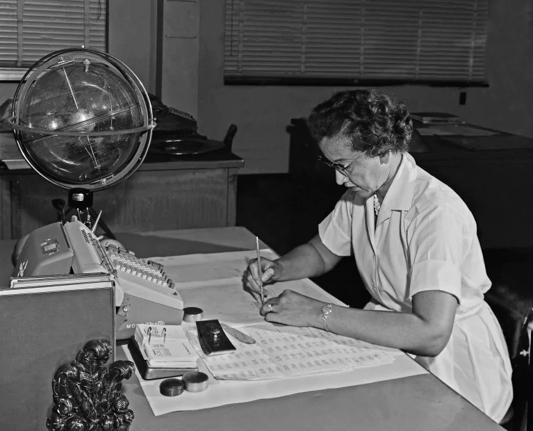 Katherine Johnson broke barriers of race and gravity. She helped humanity reach for space and touch the moon.  She opened the wonders of the universe to every little girl who dreams of the night sky.   When you look at the stars tonight, remember her. #BlackHistoryMonth #BHM