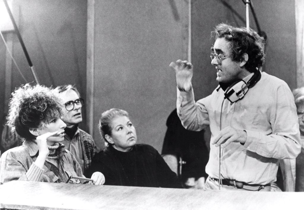 """#BOTD #MichelLegrand - Composer of such dreamlike music featured in """"Young Girls of Rochefort"""" """"Yentl"""".  Michel is pictured here with #BarbraStreisand and #GeneKelly."""