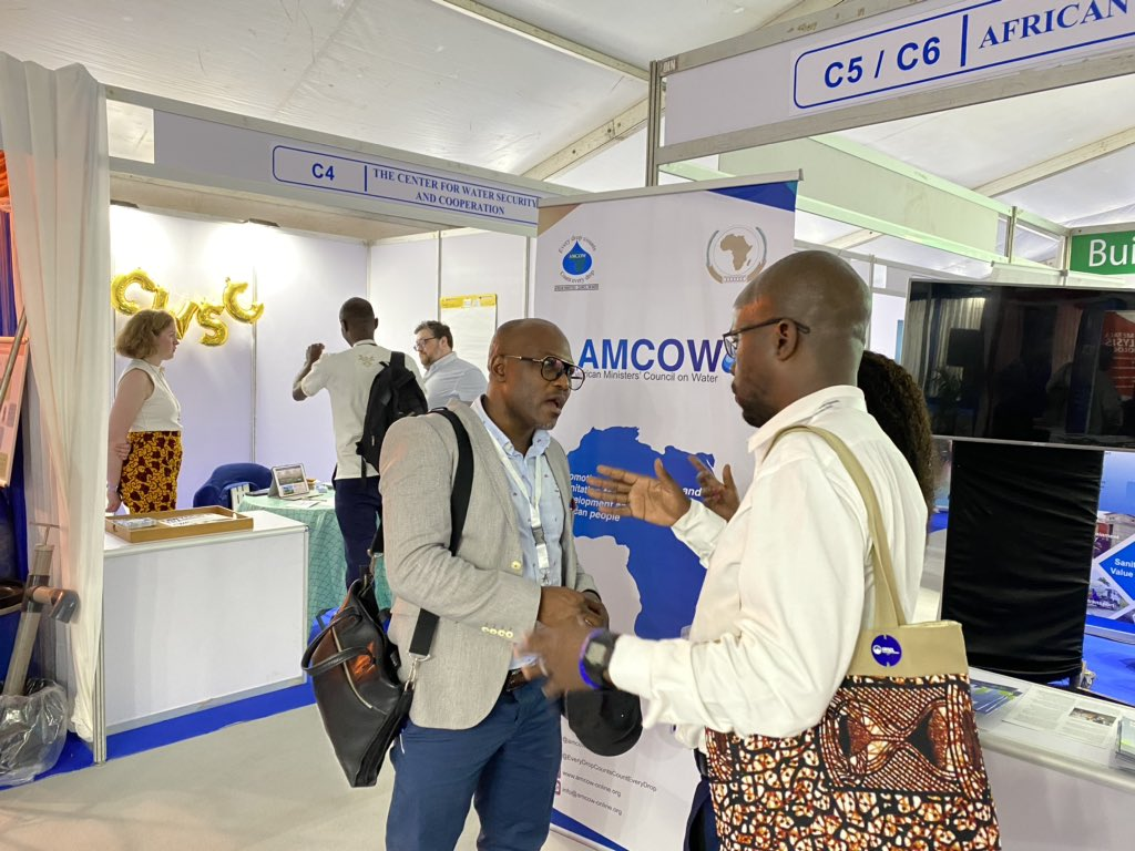 If you want to learn more about #AMCOW don't miss our joint exhibition booth with the @AfDB_Group & @AWFbroadcast at #AfWA conference in #Uganda