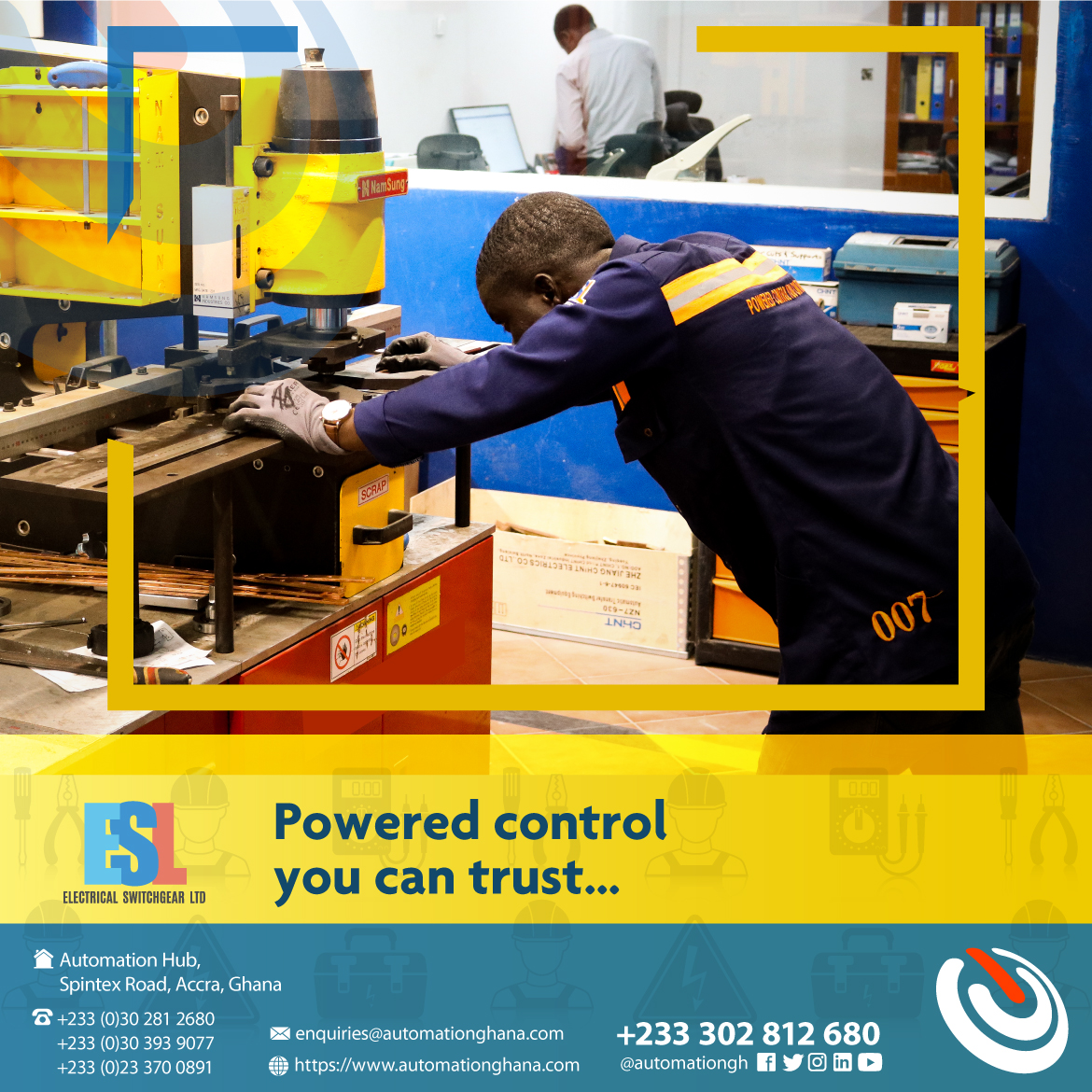 We won't miss a beat ... We're always accurate Electrical Switchgear Ltd - powered control you can trust... #tagg #smartsolutions #eslghpic.twitter.com/9FhvUqyzfw