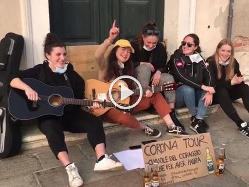 #Coronavirus, il messaggio delle ragazze del Barco...