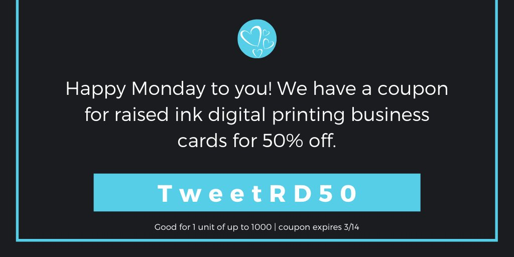 Wes Tex Printing On Twitter Happy Monday Here S A Coupon For You Write It Down And Save It You Have Until March 14 To Use It Tradeprinter