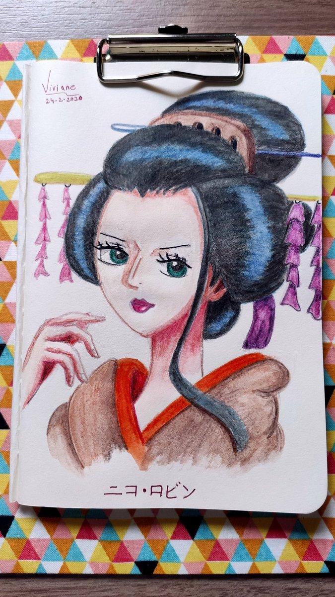 Nico Robin - One Piece #nicorobin #onepiece #onepiecefanart #animefanart #colorpencil #desenhoamão #lapisdecorpic.twitter.com/ibQ75Q3HJs