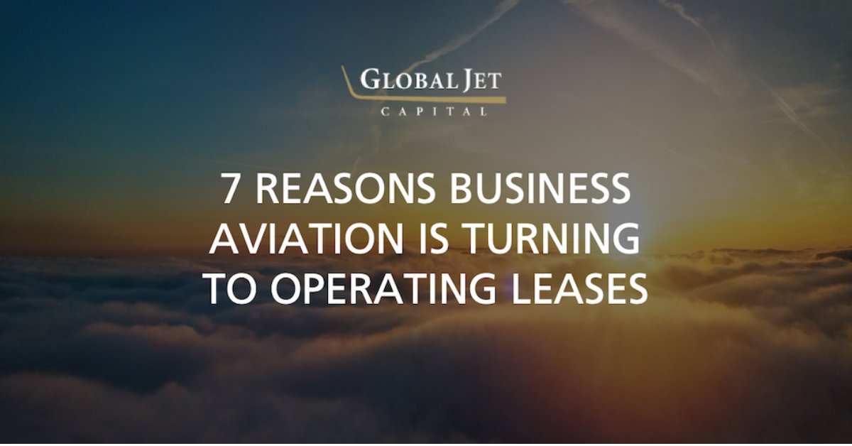 An operating lease provides ownership experience without being in the full business of owning an aircraft. Here are 7 things you probably don't know about operating leases: hubs.ly/H0n83wZ0. #bizav #aviation #privateaviation