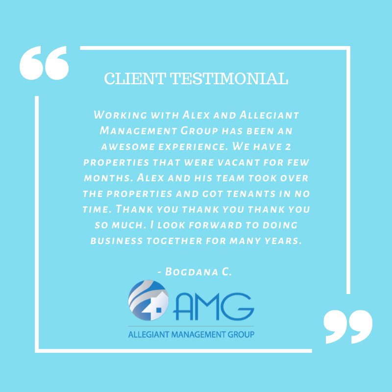 WE LOVE OUR CLIENTS! http://www.amgrents.com  #realestate #propertymanagement #propertymanager #amgrents #allegiantmanagementgroup #centralflorida #kissimmee #forrent #rentals #realtors #buying #selling #narpmsmart #narpm #theallegiantway #testimonialpic.twitter.com/CwdfJOpD1I