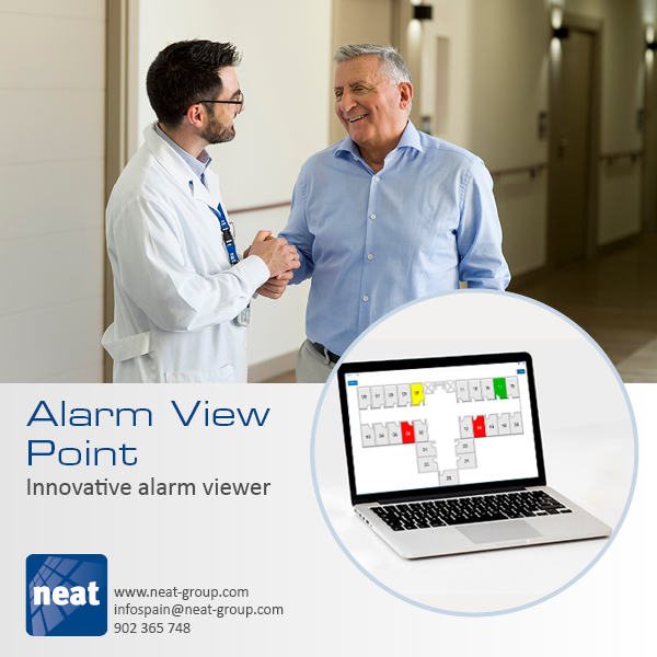 Alarm View Point is an application designed to display alarms on devices connected to the same network infrastructure, for example on a PC, a Tablet or a LED Display in care environments  http://bit.ly/2J9AaXQ   #tecs