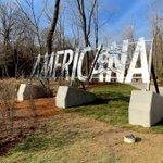 Image for the Tweet beginning: Arkansas's @crystalbridges Museum just opened
