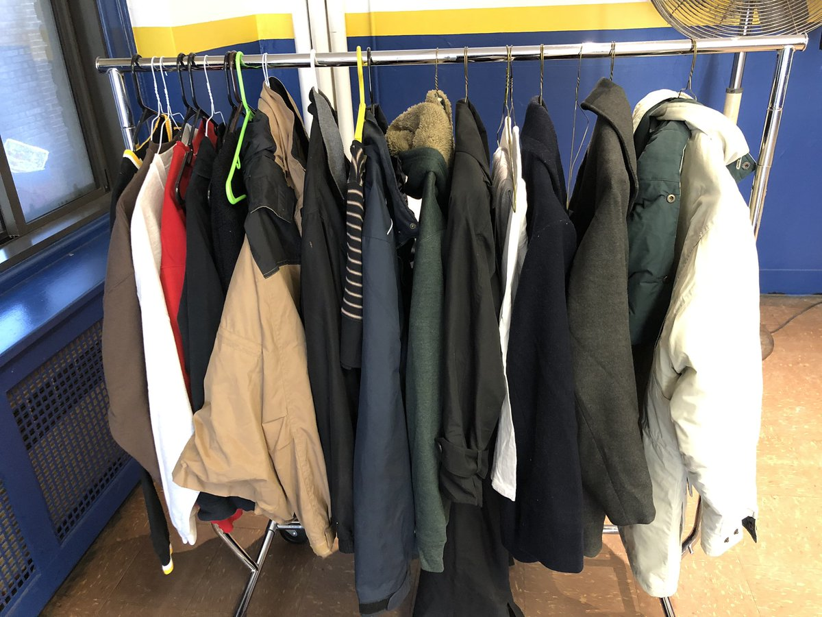 Today the 39th District received a new donation of clothes to be given out to the community.