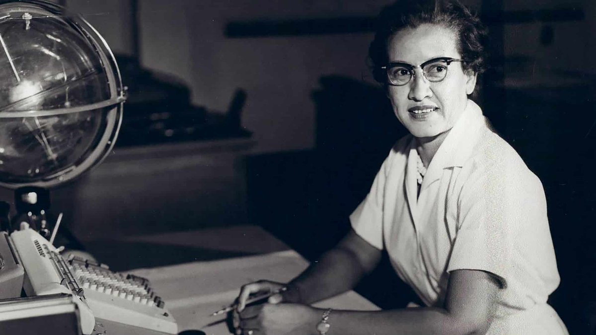 #KatherineJohnson