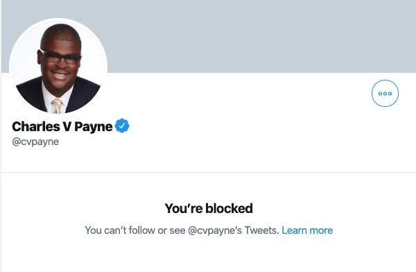 @cvpayne And now I'm blocked