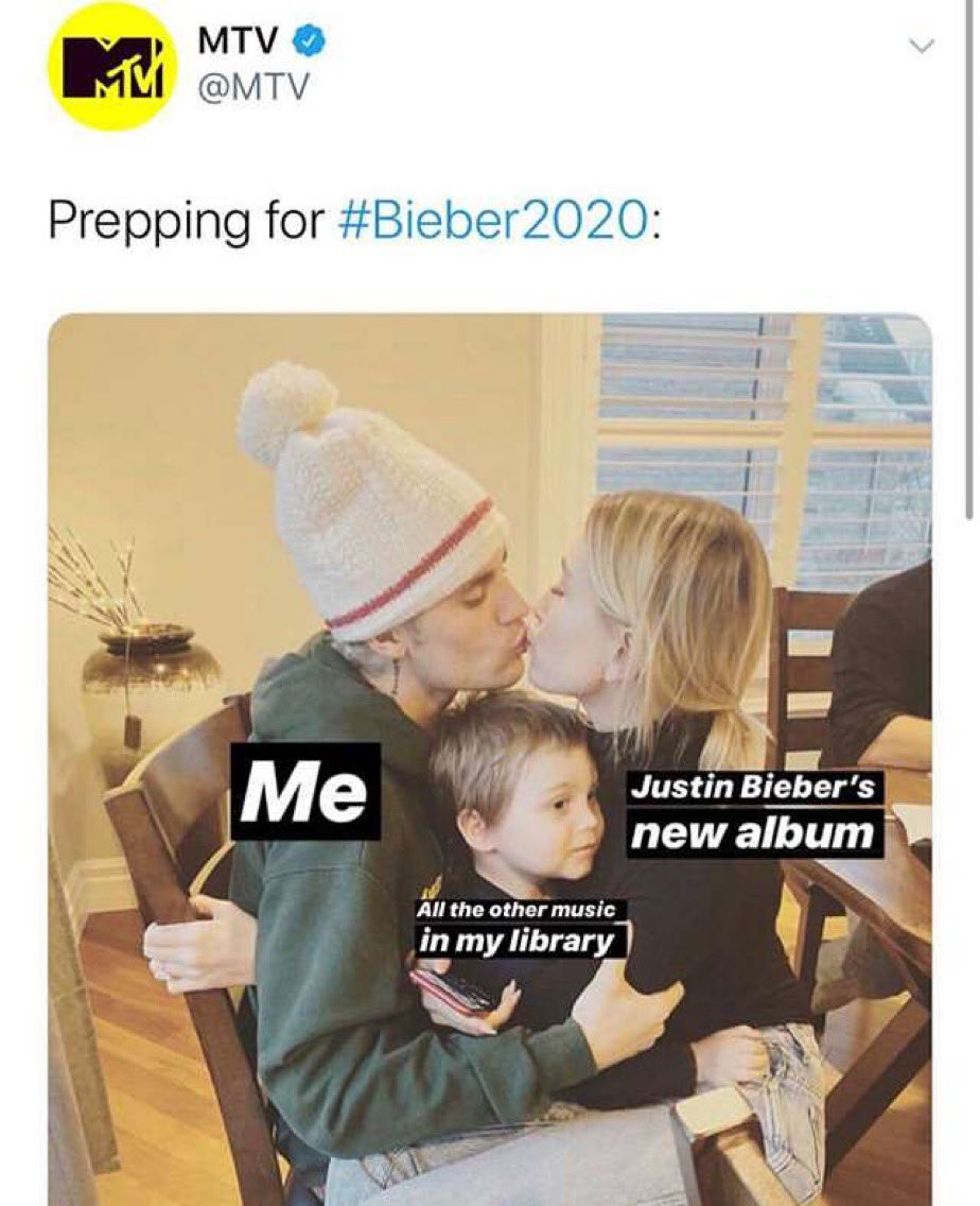 Literally me the past week 😂❤️ #Changes #CHANGESOUTNOW #bieber2020 @justinbieber