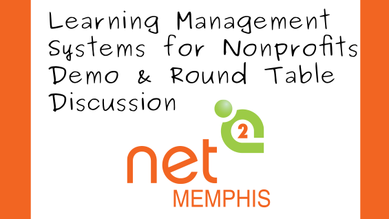 #Memphis February 27 — Learning Management Systems. During this workshop we will explore Learning Management Systems. You will see a demo of Open Source Learning Management System Moodle. https://hubs.ly/H0mDNGl0 @tweetgirlmem #Net2 @techsoup #NPtech #Tech4Goodpic.twitter.com/zq2c1JRY1Y