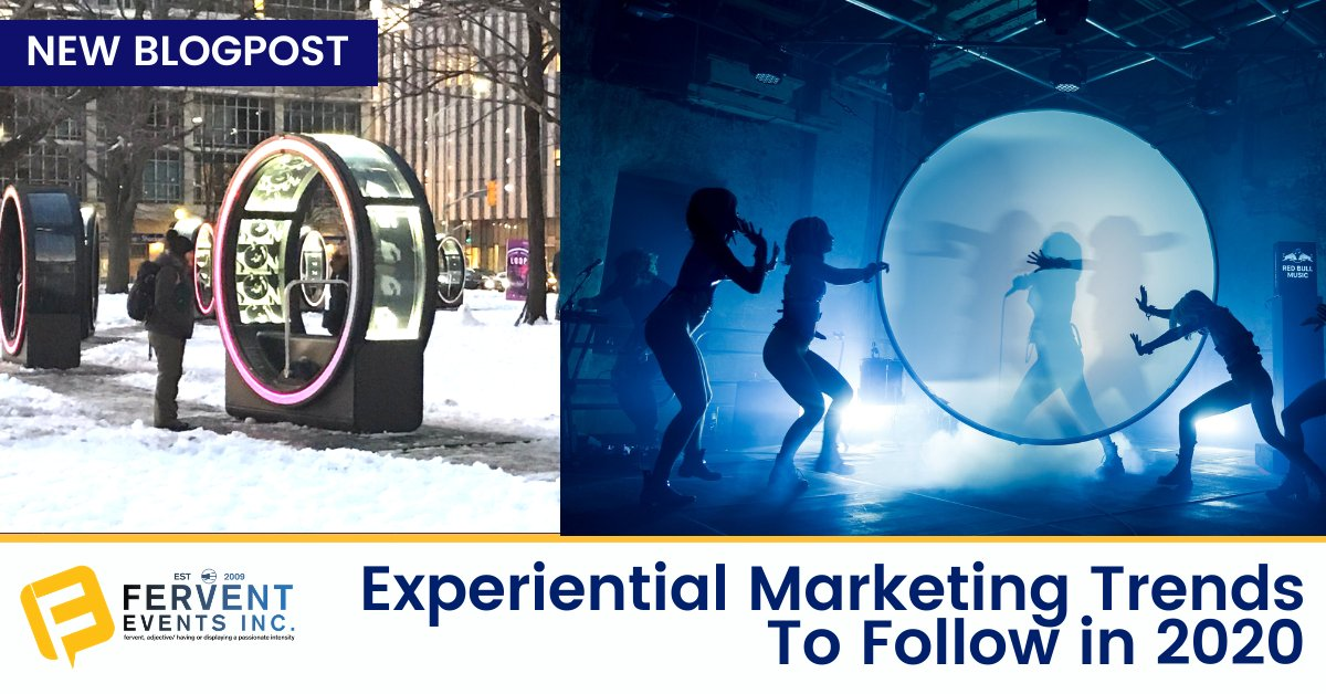 Adding onto this year with 2020 trends in #ExperientialMmarketing! Read our #for more details. We look to always be up to date on the #latesttrends in the industry, and incorporating them where appropriate to our campaigns and #activations. #marketing