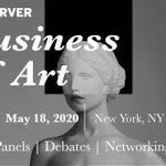Image for the Tweet beginning: The Business of Art Early