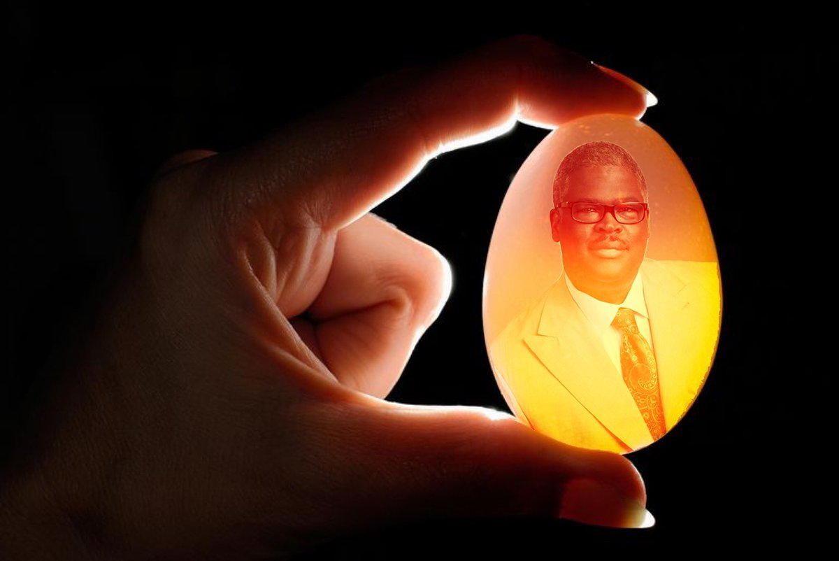 Charles has been put in the egg Am I doing it right?