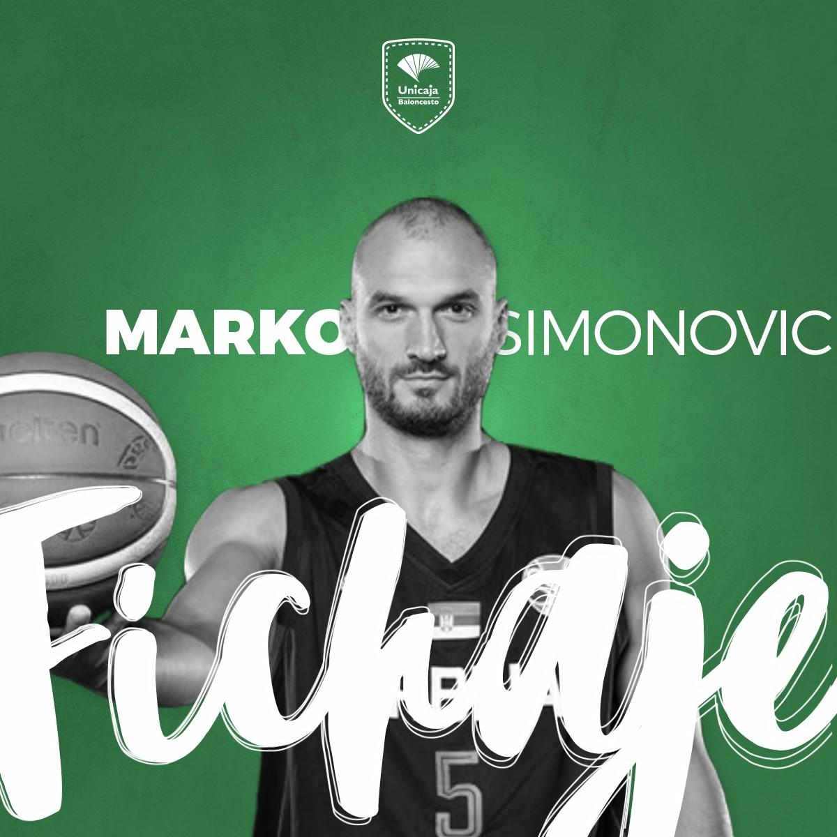 .@unicajaCB anuncia la llegada del serbio Marko Simonovic (@simke12) hasta final de temporada #MercadoACB