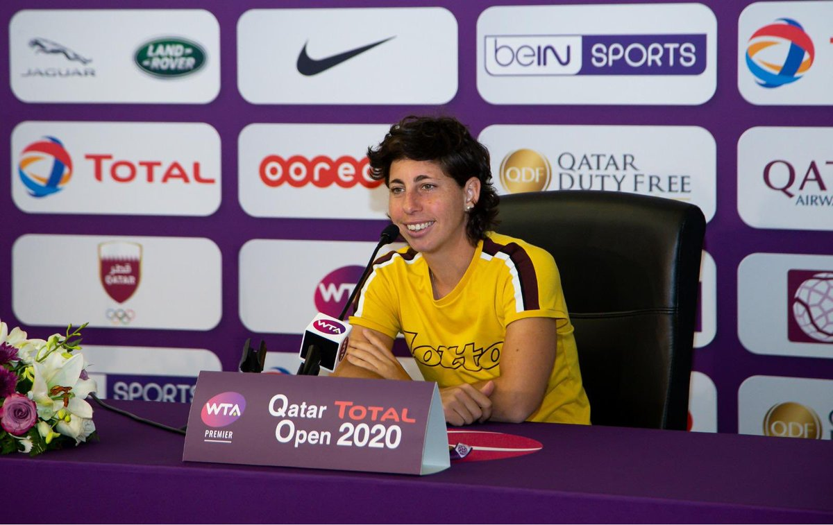 Carla Suárez Navarro @CarlaSuarezNava