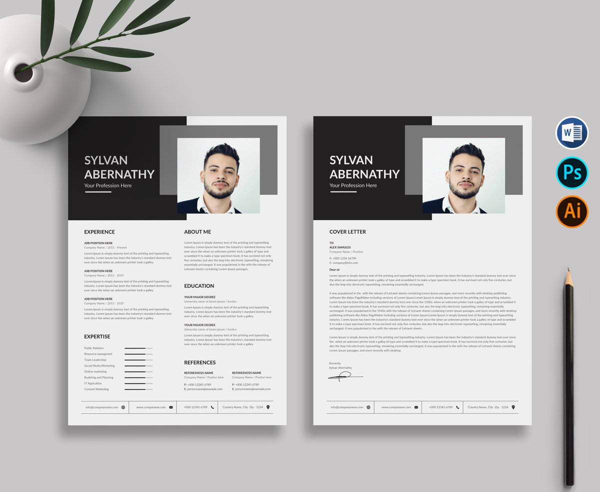Are you looking for a Resume Template? This Template is for you. Download: https://bit.ly/2Vp24FY  - - - - - - - - - -  #alabama, #cover, #coverletter, #cv, #end, #instajob #job, #letter, #people,#resume, #resumetemplate, #service, #skills, #state, #time, #today, #work, #writing