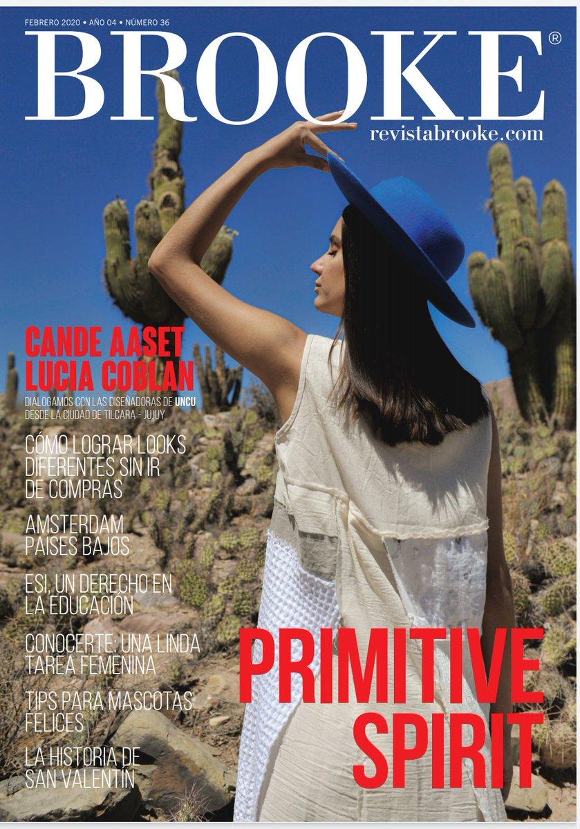 Edicion Febrero @RevistaBrooke  y mi nota a la marca de diseño UNCU no se lo pierdan#fashioneditorial #moda #revistapic.twitter.com/H6tlM33lu5
