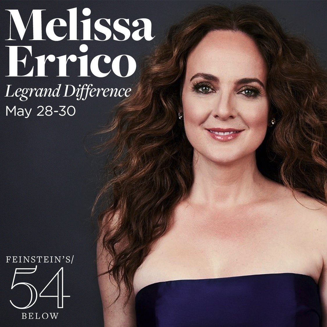 I'm back! Tickets on sale now for LEGRAND DIFFERENCE at @54Below, May 28-30 - another look at the music of #MichelLegrand - his style, his romance, his jazz, his windmills. http://bit.ly/LegrandDifference…