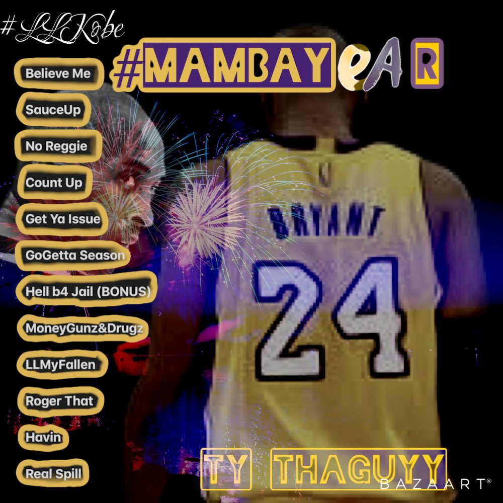 #MambaY24r TraccList ❌NO ORDER YET❌ Yall gon turn up fa me one time? #comment #viral #explore #explorepage #trending