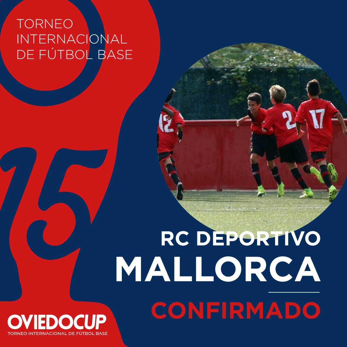   EQUIPO CONFIRMADO  ¡¡Es un orgullo que el club balear participe, un año más, en esta edición de la #OviedoCup2020!! @RCD_Mallorca  #TorneoInternacional #FútboBase #OviedoCup #XVEdición #SemanaSantapic.twitter.com/bE1G0BScOQ
