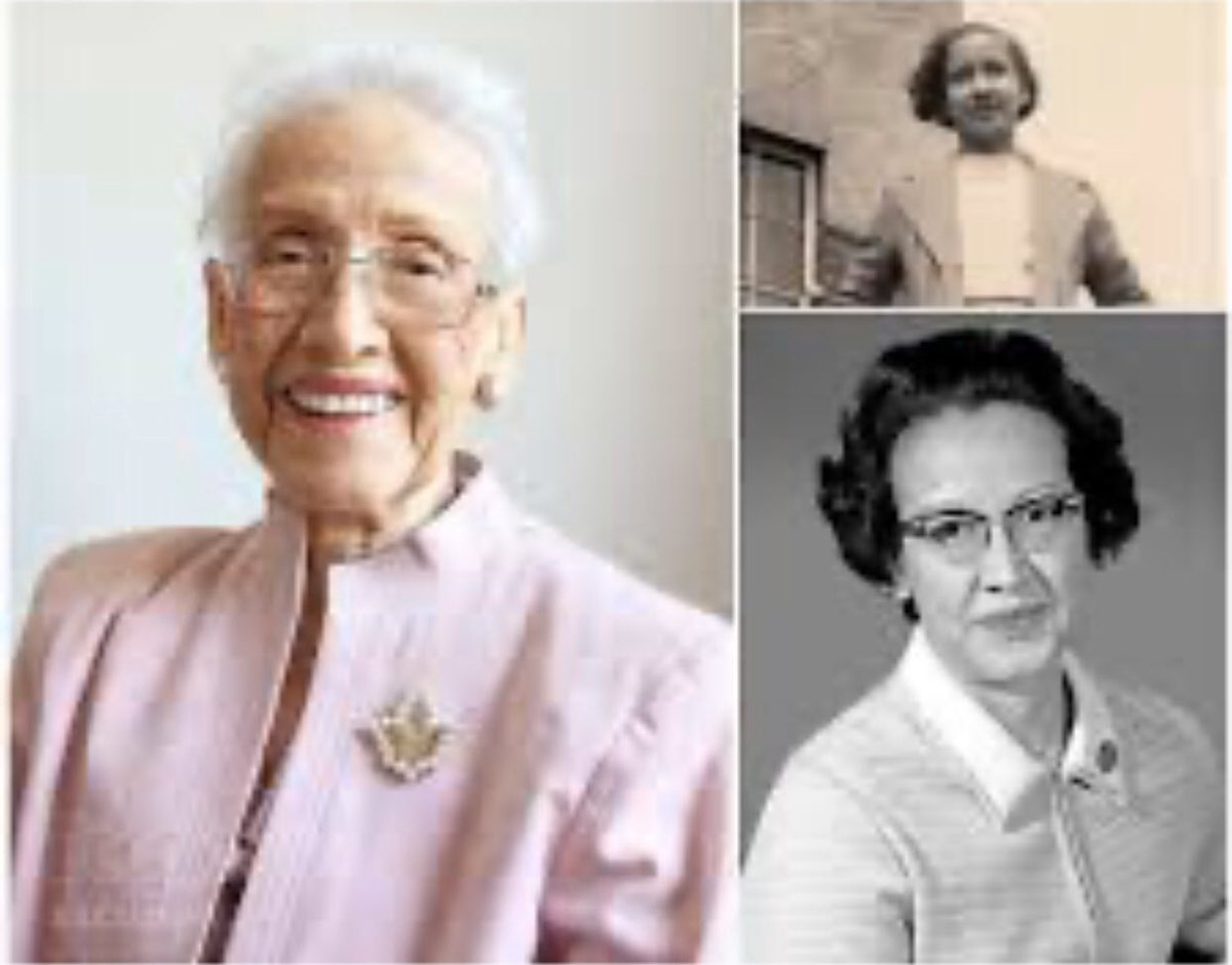 """#MondayMorning #MondayMotivation #mondaythoughts Today we🙏🏾& say farewell to 1 of Amer. Smartest Black Women in History❤️🙏🏾  """"Katherine Johnson"""" the Mathematician was a 35yr worker4 NASA/Her Orbital Calculations& Mechanics Made Apollo &Space Missions Possible"""
