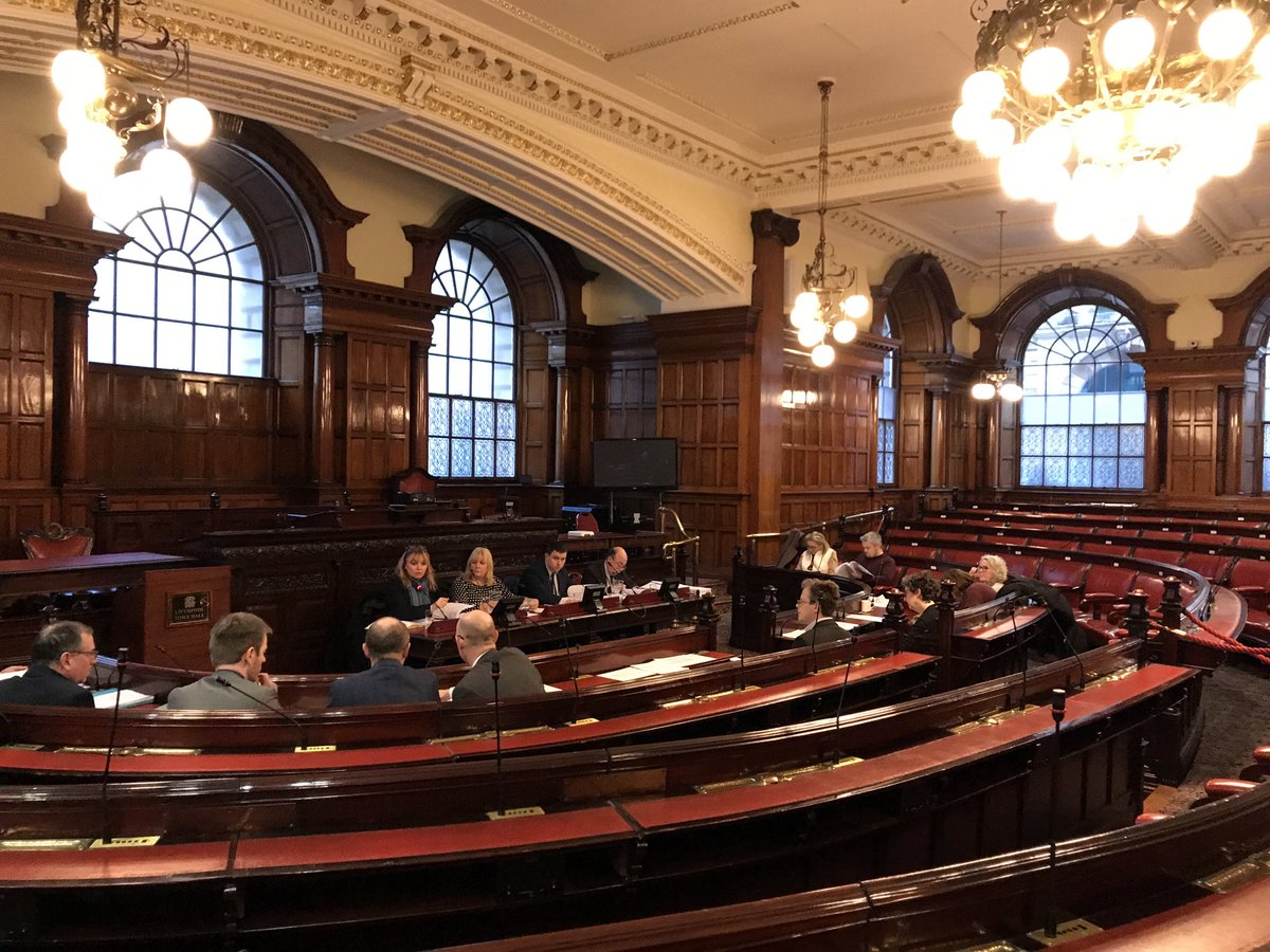 @lpoolcouncil Audit and Governance Select Committee is now in session. Agenda items include a report on the council's capital programme and the council's budget.