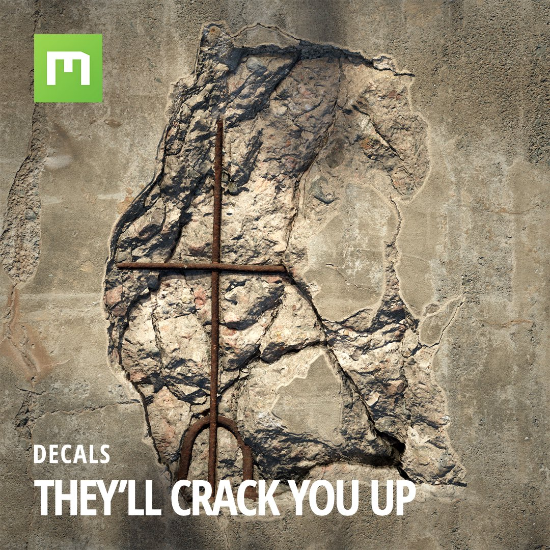 They really are all they're cracked up to be. 🔨    More inbound, with many others being added every single day.  #quixel #megascans #water #pipe #metal #realworld #scandata #photogrammetry #pbr #material #gamedev #cg #vfx #art