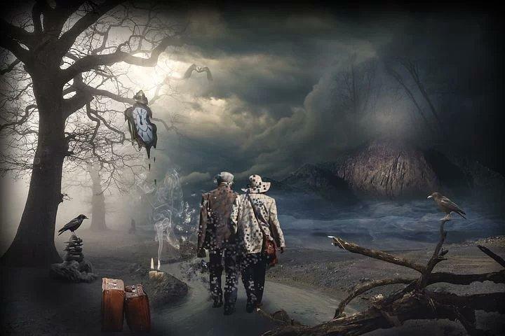 Los seres vivos, por naturaleza, se aferran a la vida. La eutanasia, pues, es un invento más del ser humano. Ese detractor que infecta, corrompe y altera todo lo natural de este planeta.  Imagen: #Art by lassaffa on @pixabay