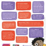Image for the Tweet beginning: Tackling gender stereotyping in the