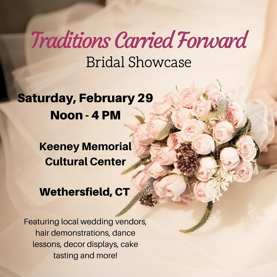 Join us February 29th! Tickets:  https://www.eventbrite.com/e/whs-hosts-traditions-carried-forward-a-bridal-showcase-of-old-wethersfield-tickets-91360617065 …  #ctweddings #oldwethersfield #wedding #dancelessons #caketasting #inspiration #hairdemos #Wethersfieldpic.twitter.com/pM6yvOgJmk