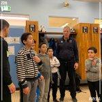 Image for the Tweet beginning: 📸 Visite de jeunes Dijonnais