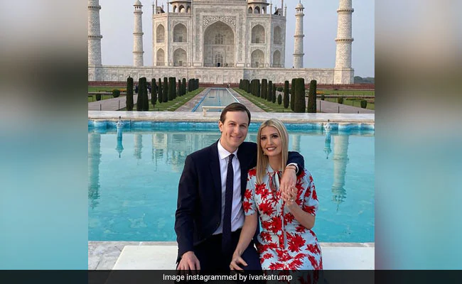 Ndtv On Twitter Ivanka Trump Finds Taj Mahal Awe Inspiring Https T Co J13sexslj3