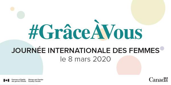 Image result for journée de la femme 2020 canada