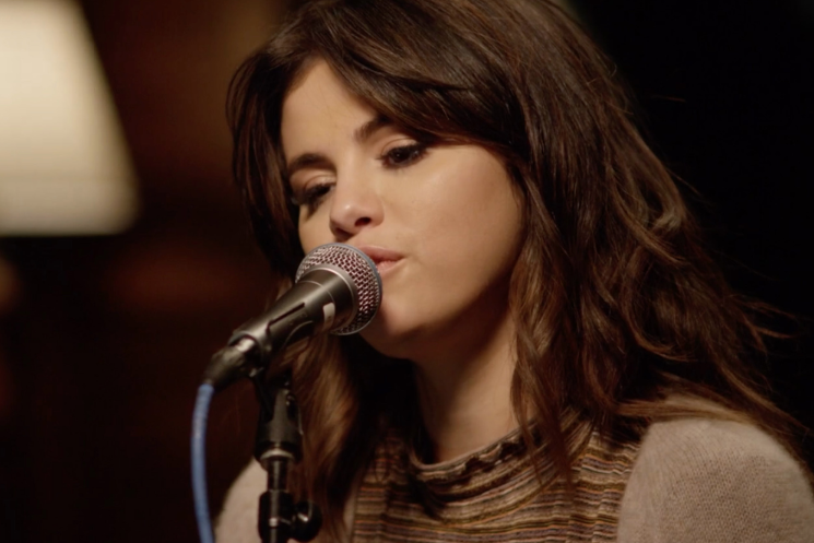 "Watch Selena Gomez's stripped-down performance of ""Rare"" https://rol.st/32o4czB"