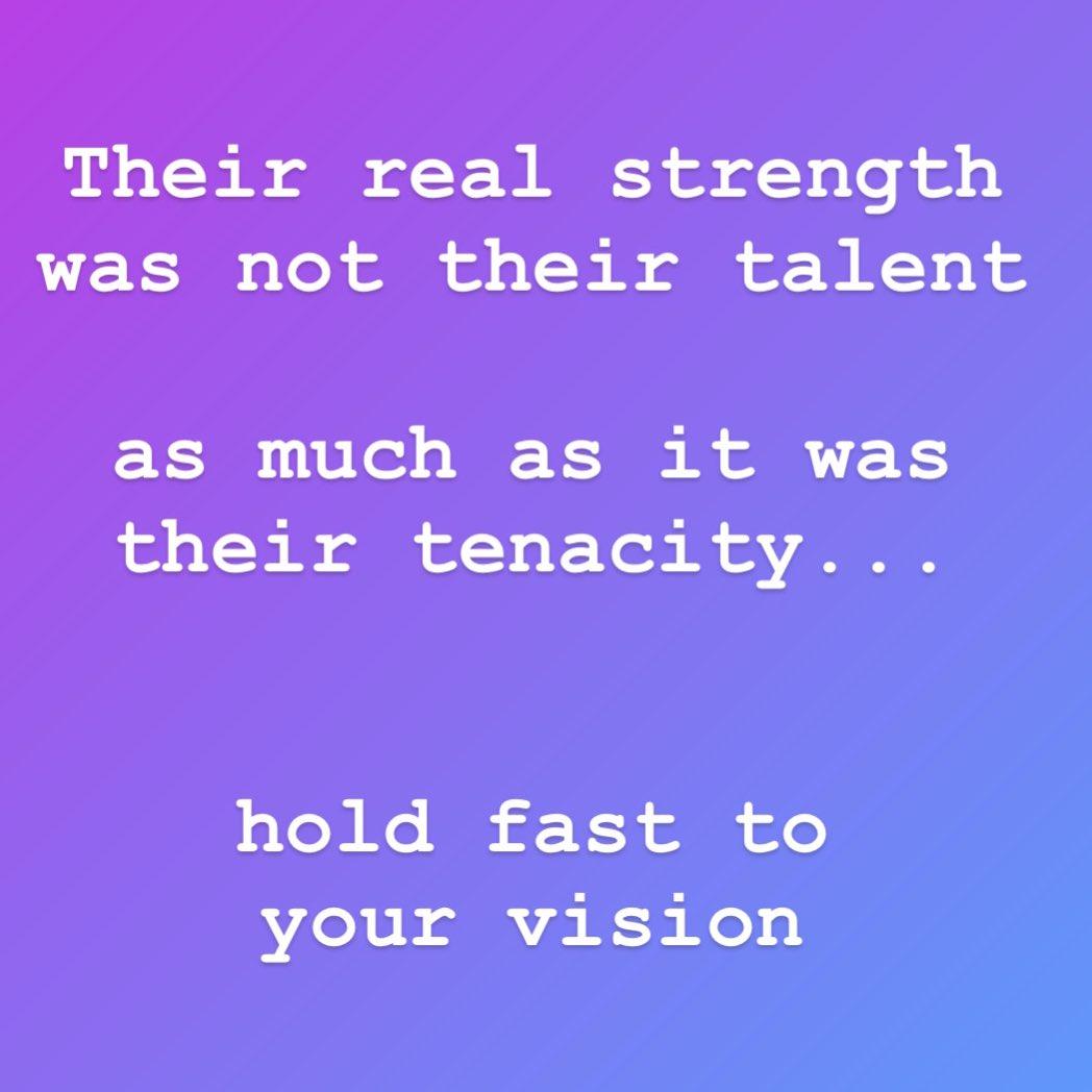 Talent + Tenacity