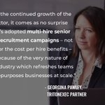 Image for the Tweet beginning: #TritonExec Partner Georgina Pawley shares