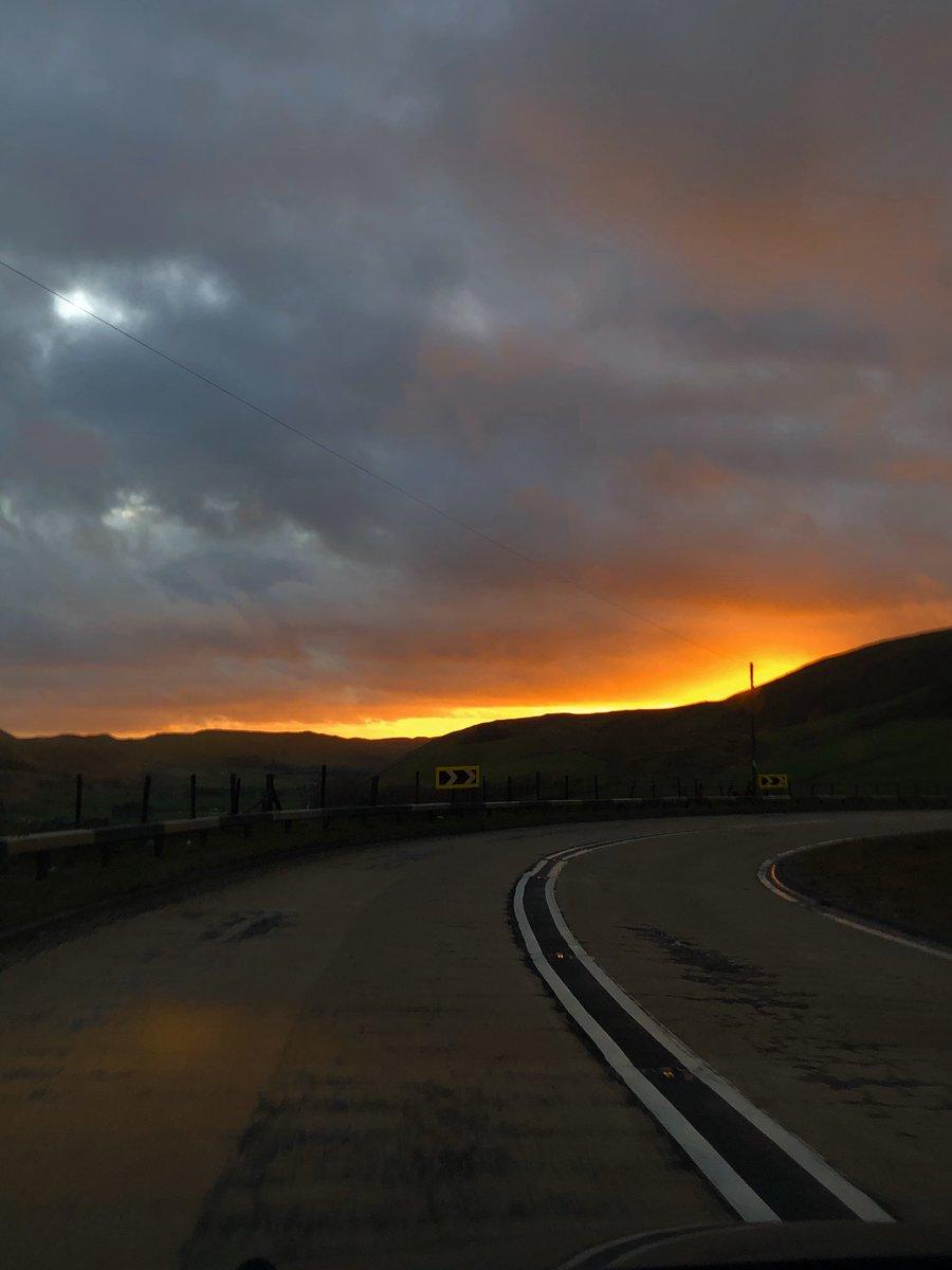 #sun #sunset #Wales #Aberystwyth