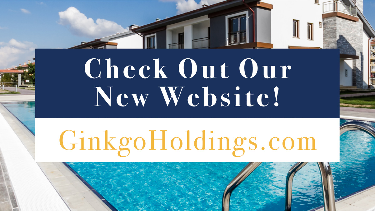 Come check out our new website! It is filled with valuable information, resource links and hidden treasures!  http://Ginkgoholdings.com  #apartmentinvesting #apartmentbuilding #multifamily #multifamilyinvesting #multifamilyrealestate #multifamilyhousing #multifamilyinvestorspic.twitter.com/Q2CZuIeCDx