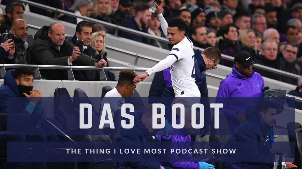 Das Boot // S02E19 .  . Subscribe to Podcast via iTunes, Spotify, Google, TuneIn and Audioboom . . . . . #coys #thfc #spurs #yidarmy #TottenhamHotspur #woltot #totrbl #chetot #ttilmshow
