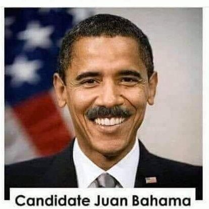 BREAKING NEWS: We have a new candidate for President in 2020. Will you vote for Juan Bahama??