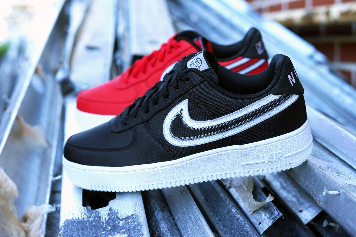 Checks all around with Nike Air Force 1